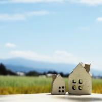 青空と家の画像