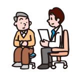 診察する医師のイラスト